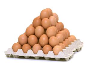 Eieren tray